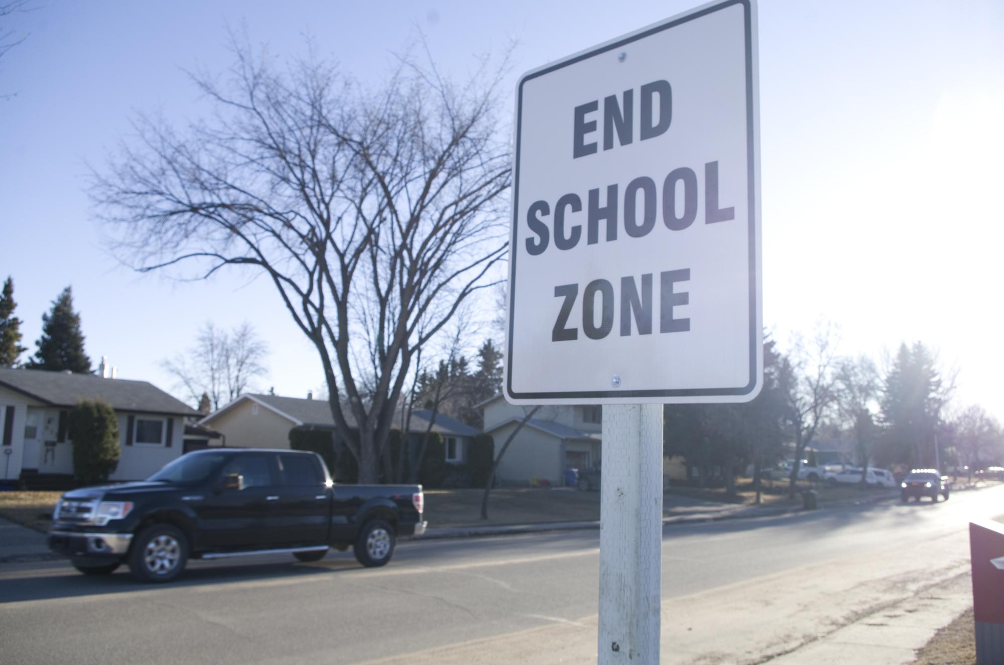 Citaten School Zone : Speeding through school prince albert daily herald