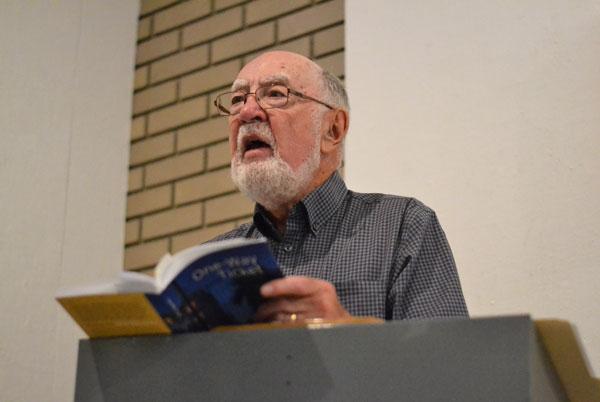 Award-winning Sask. poet Robert Currie holds reading for new book in Prince Albert | Prince Albert Daily Herald