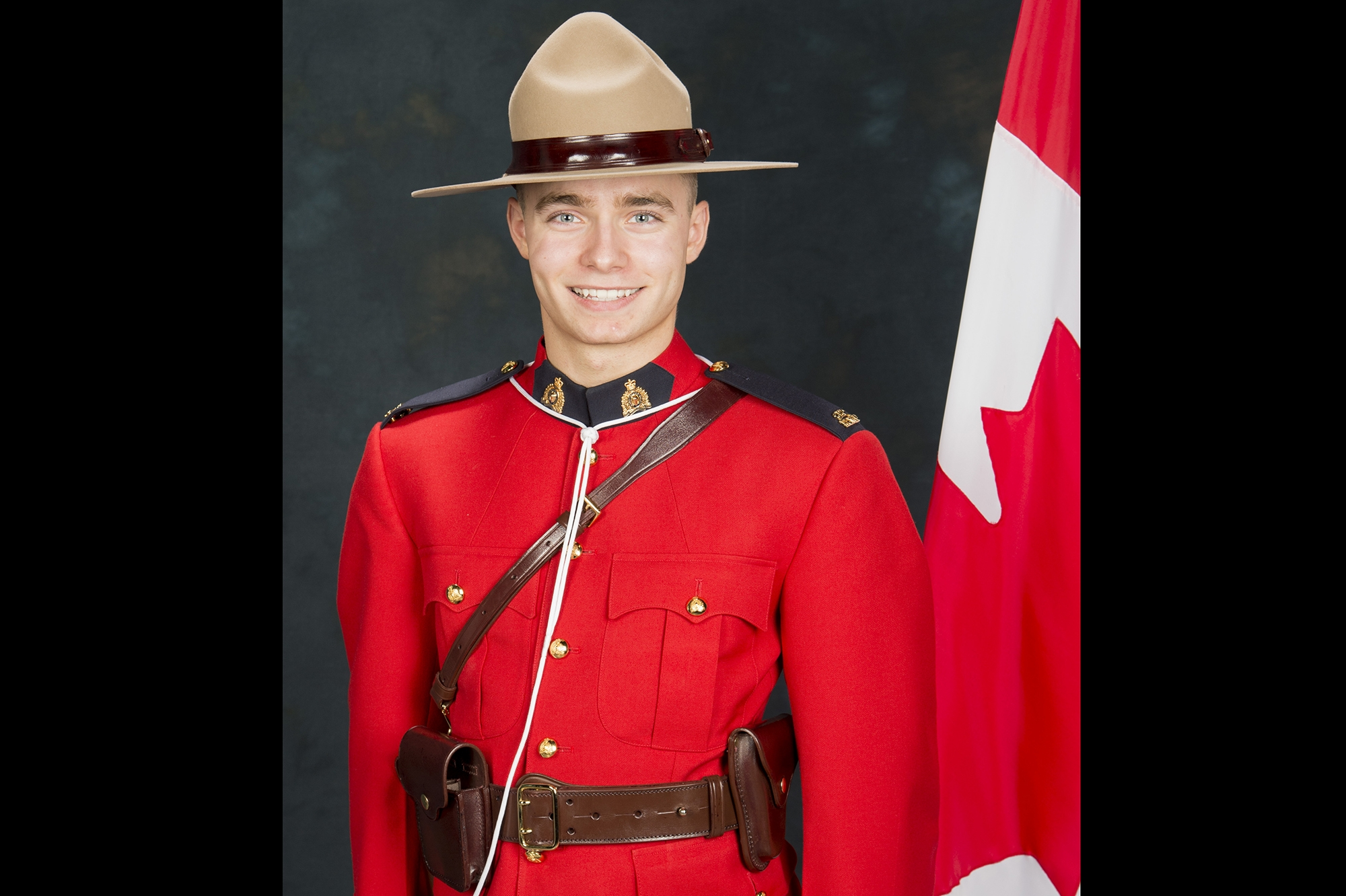 Saskatchewan RCMP mourns death of 26-year-old officer killed Saturday morning during traffic stop